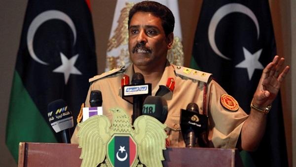 : بث مباشر.. مؤتمر صحفي للمتحدث باسم الجيش الليبي