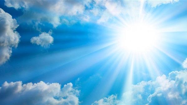 :  الأرصاد  تحذر من التعرض لأشعة الشمس المباشرة