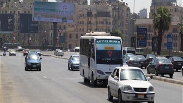 : ننشر خريطة الطرق الأكثر ازدحامًا بالقاهرة والجيزة قبل الإفطار