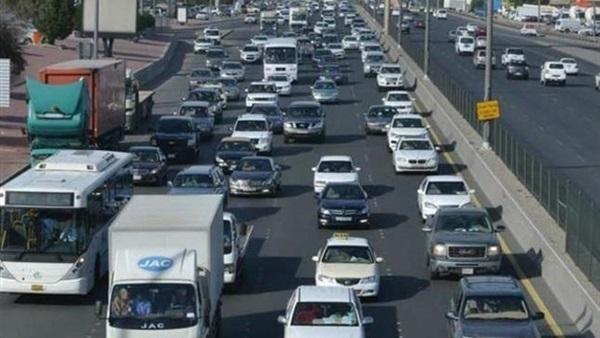 : بالفيديو.. المرور: سيولة على أغلب الطرق والمحاور