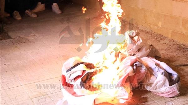 : حرق بانر  وايت نايتس الزمالك