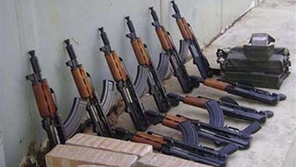 :  ضبط 12 سلاحًا ناريًا و16 ألف قرص مخدر خلال أسبوع في أسوان