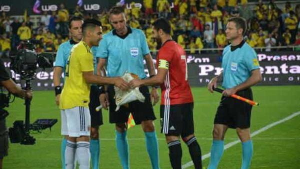 : التعادل السلبي يسيطر على أول 15 دقيقة من مباراة مصر وكولومبيا