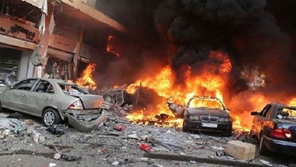 :  داعش  يتبنى تفجير  معمل الكونسروة  بإدلب