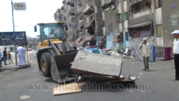 : حملة تستهدف الباعة الجائلين في حي العرب ببورسعيد