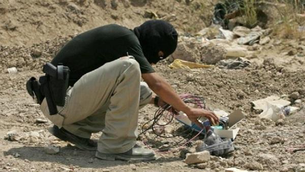 : إبطال مفعول 15 عبوة ناسفة زرعها  داعش  بـ الرمادي  العراقية