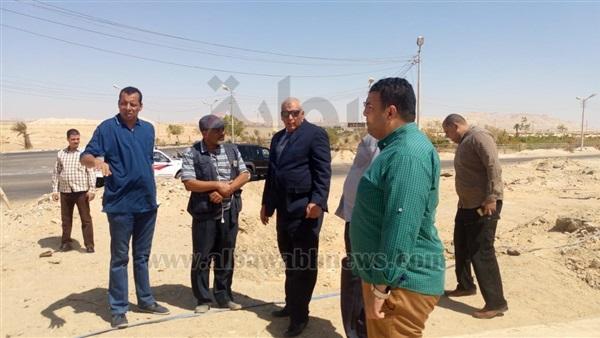 : حفر بئر جوفي لتنفيذ مبادرة  ازرع نخلة  في الوادي الجديد