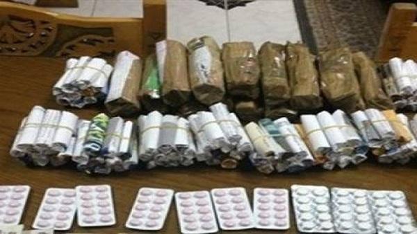 : ضبط 163 قضية مخدرات خلال 24 ساعة