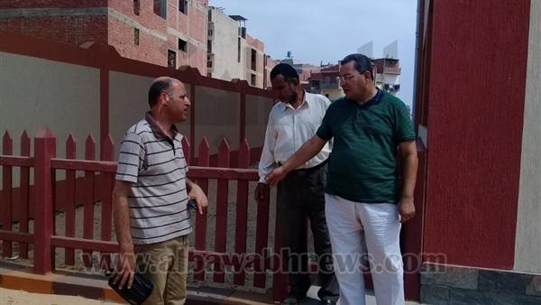 : بالصور.. مرور مفاجئ من مجلس مدينة المنصورة على المدارس