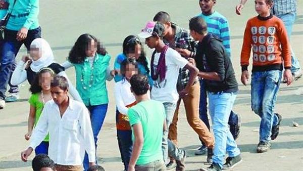 : ضبط 10 أشخاص تحرشوا بطالبات المدارس في السويس