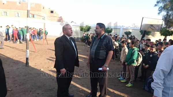 : بالصور.. وكيل وزارة التعليم بالدقهلية يتفقد عددا من المدارس