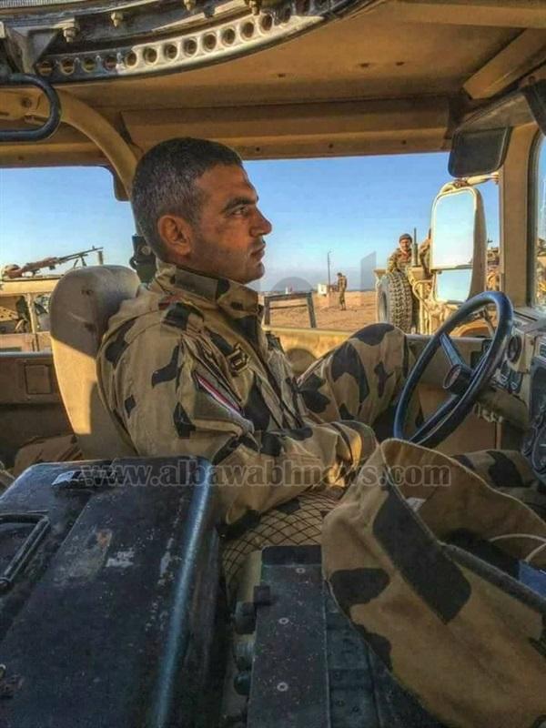 ننشر صورة العقيد احمد المنسي الذي استشهد في هجوم العريش الإرهابي