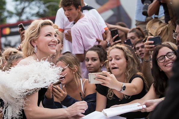 كيت بلانشيت تتألق بمهرجان فينيسيا الدولى