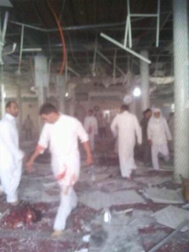 قتلى وجرحى هجوم انتحاري مسجد