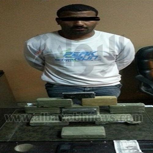 : القبض على عاطل بحوزته 11 كيلو حشيش بالطالبية