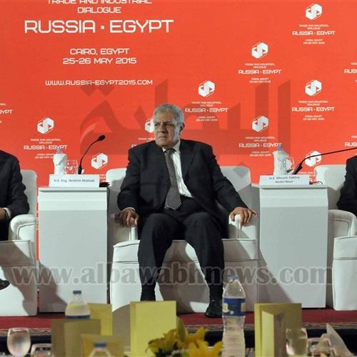 : بالصور..  محلب : التوقيت مناسب الآن لتكثيف التعاون بين مصر وروسيا