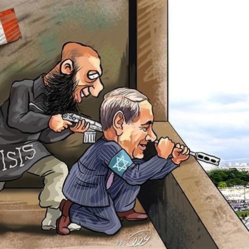 : بالصور.. 1500 دولار لأكثر رسم ساخر من  داعش