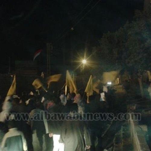 : الإرهابية تقطع الطريق الدائري بفيصل