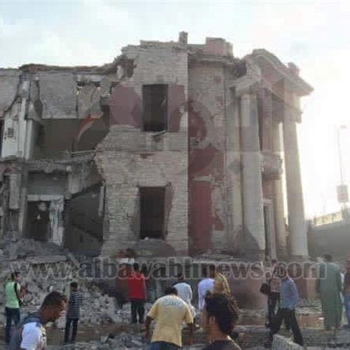: بالصور.. تلفيات كبيرة نتيجة انفجار القنصلية الإيطالية