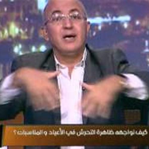 : بالفيديو.. سيد علي: دينا وسعد الصغير سبب التحرش في مصر