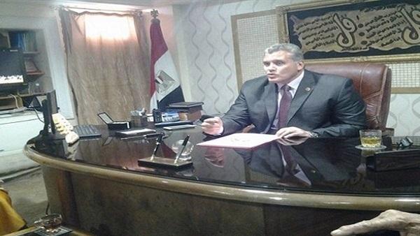 مدير أمن شمال سيناء يزور قسم الشيخ زويد وسط حراسة مشددة