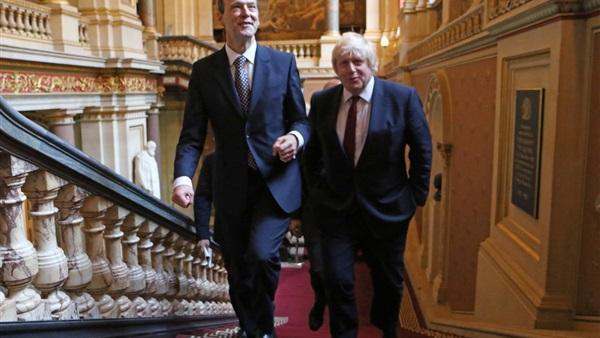 رسميًا .. عمدة لندن السابق وزيرًا للخارجية البريطانية 748