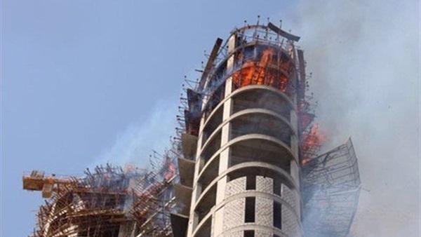 حريق هائل فى مبنيين بالكويت.. وإصابة 12 من رجال الإطفاء  607