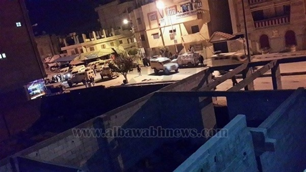 استشهاد 4 أفراد شرطة في هجوم على كمين النقب بالوادي الجديد