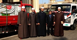 قافلة دعوية لمساجد العامرية لأداء خطبة الجمعة