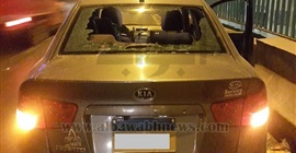 مواطن يصور لصوص سرقة الحقائب من السيارات على الطريق الدائري