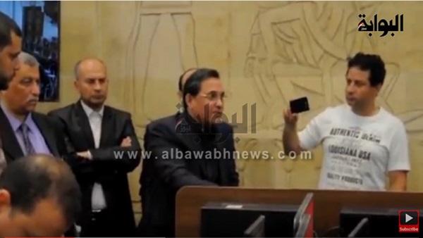 """بالفيديو.. عبدالرحيم علي: سأعيد نشر العنوان """"الممنوع"""" حتى لو اعتقلت.. ووزير الداخلية ليس """"إلهًا"""""""