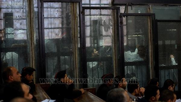 """تأجيل محاكمة المتهمين بقضية """"فض رابعة"""" لـ13 يونيو"""
