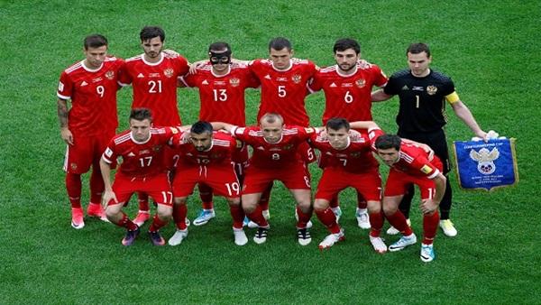 نتيجة بحث الصور عن تشكيلة منتخب روسيا