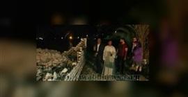 رئيسة قرية بالفيوم تزيل مبنى مخالفًا بعد منتصف الليل