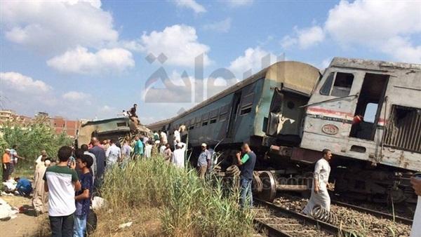 """خروج 81 مصابا في """"حادث القطارين"""" من مستشفيات الإسكندرية"""