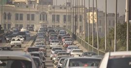 """بالفيديو.. """"المرور"""" تنصح بالابتعاد عن كوبري أكتوبر للقادمين من الجيزة إلى مدينة نصر"""