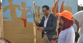 أحمد سالم يشيد بركن جامعة المنيا بمستشفى 57357