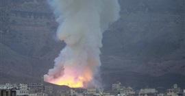 مصادر يمنية: وقوع انفجارات شرقي تعز