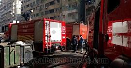 الحماية المدنية بكفر الشيخ: لا شبهة جنائية في حريق شقة طلاب