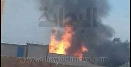 بالصور.. السيطرة على حريق هائل في مصنع صابون بالبحيرة