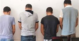 """ضبط 4 تجار مخدرات أثناء توزيعهم الهيروين في """"بدر"""""""