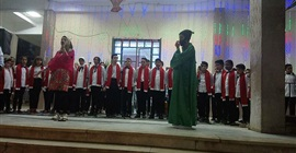كورال أطفال ومسرح عرائس في احتفالات رمضان بالمنيا