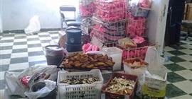 ضبط حلويات فاسدة داخل مصنع بطنطا