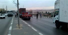 """بالفيديو.. """"المرور"""": حادث سير أعلى الأوتوستراد للقادم من القاهرة الجديدة"""
