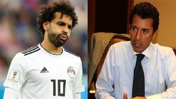 وزير الرياضة ومحمد