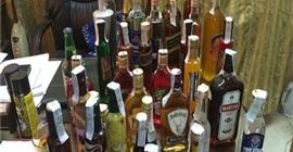 ضبط 2125 زجاجة خمور مهربة في سفاجا