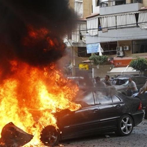 النيابة تعاين سيارة وكيل النيابة المحترقة بالمحلة الكبرى
