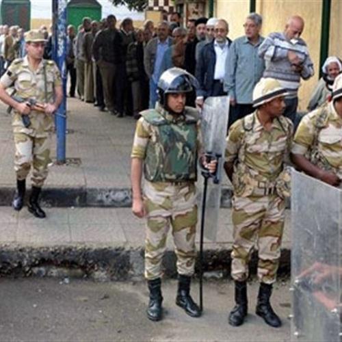 الجمعية المصرية تشيد بتأمين الجيش والشرطة للانتخابات