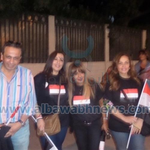 بالصور احتفالات المصريين بنصر السيسي مستمرة