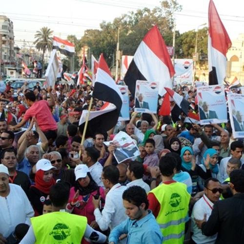 : غريب: دواعٍ أمنية وراء قصر الاحتفال بفوز السيسي بالاتحادية والتحرير فقط
